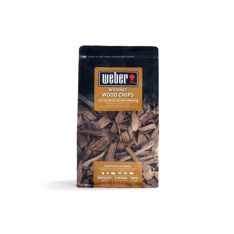 WEBER Chips per affumicatura gusto Whiskey