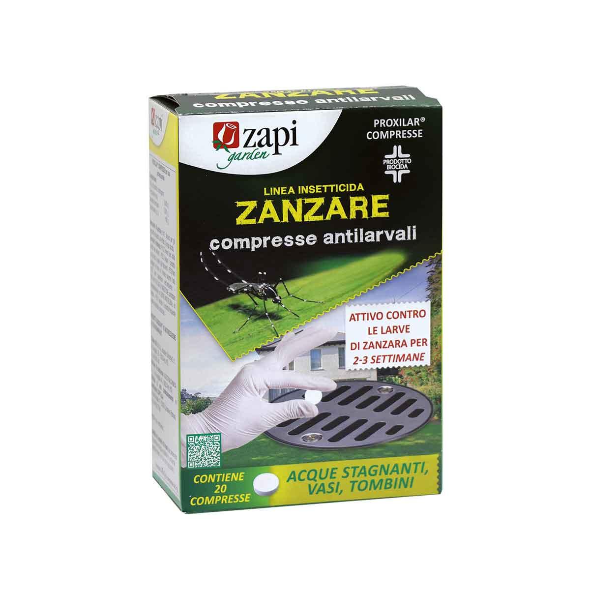 Zapi anti zanzare compresse antilarvali B.I.A.