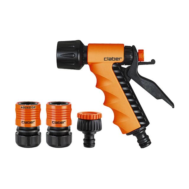 Claber Starter Kit con pistola e raccordi