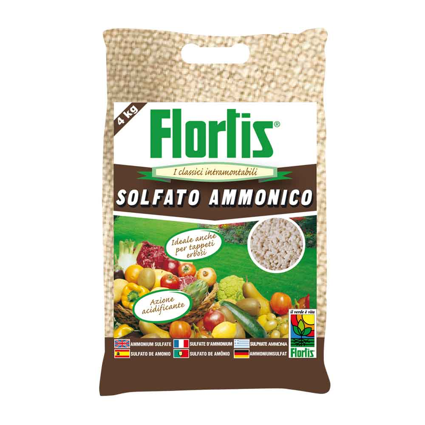 Flortis concime granulare solfato ammonico 4 kg