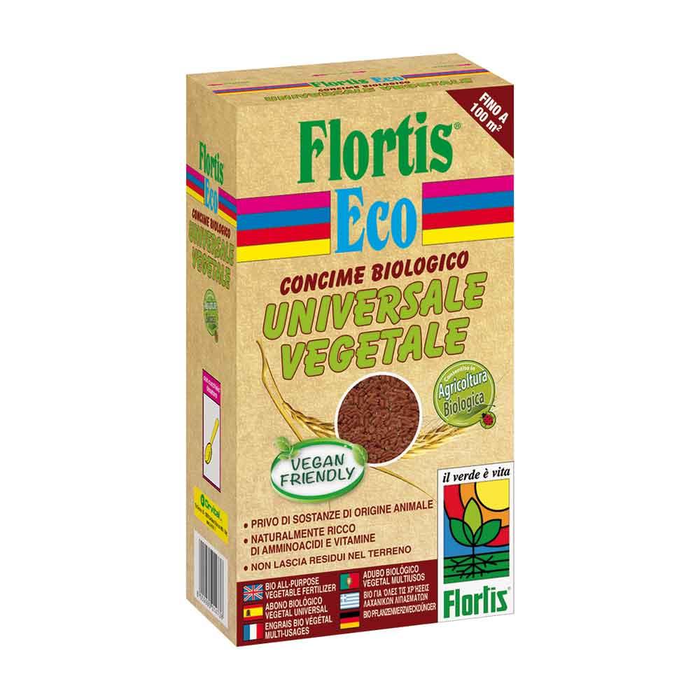 Flortis concime in pellet biologico universale vegetale 1 kg
