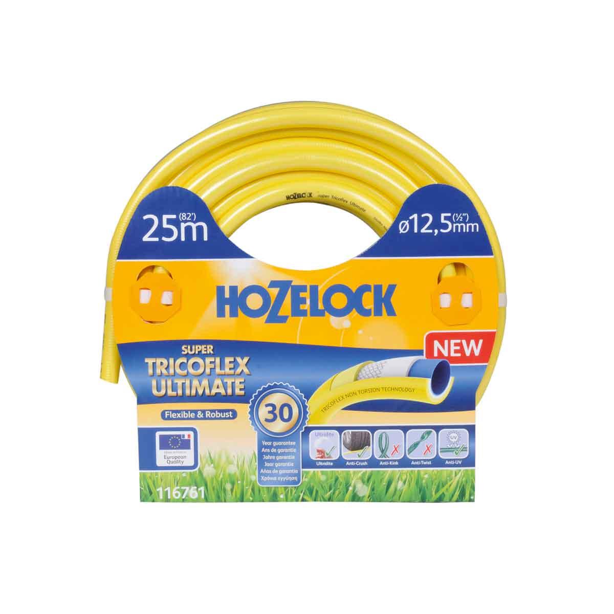 Hozelock Tubo Super Tricoflex Ultimate da 25mt e 12,5mm∅