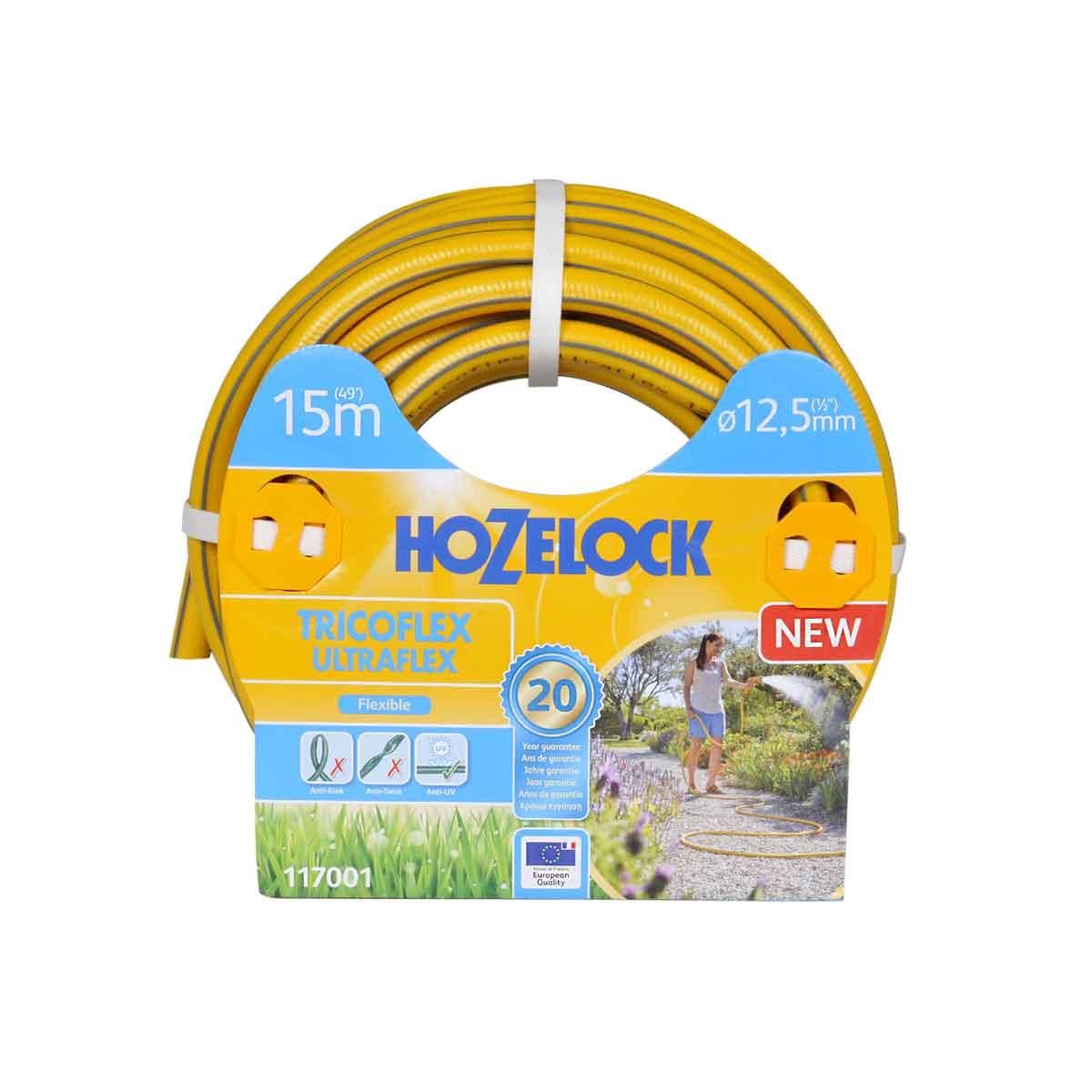 Hozelock Tubo Tricoflex Ultraflex da 15mt