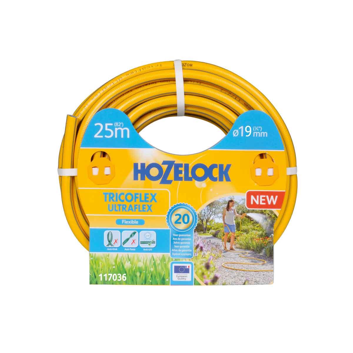 Hozelock Tubo Tricoflex Ultraflex da 25mt e 19mm∅