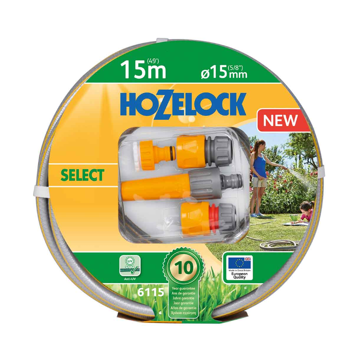 Hozelock Tubo per irrigazione Select 15mt
