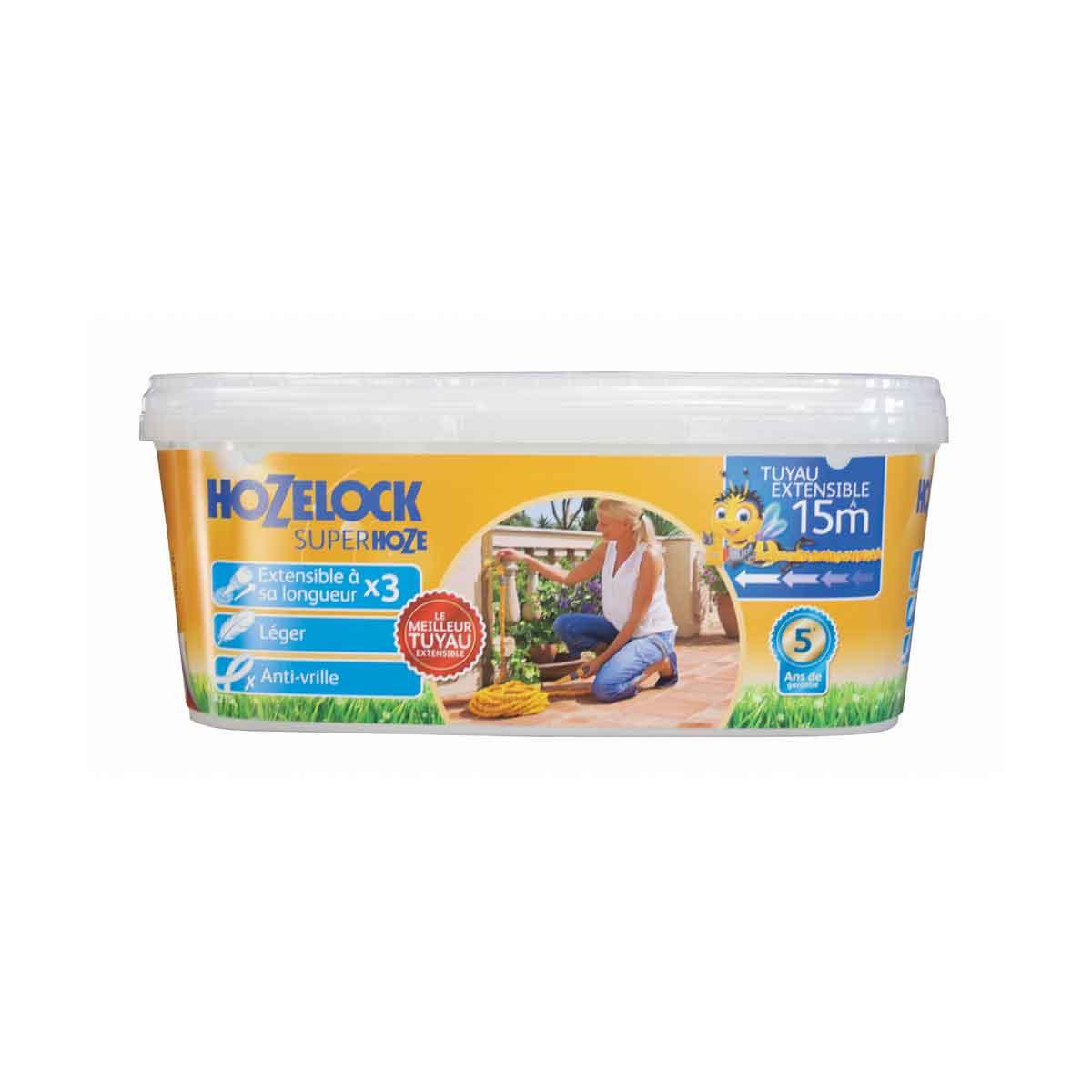 Hozelock Tubo super estensibile Superhoze da 15mt