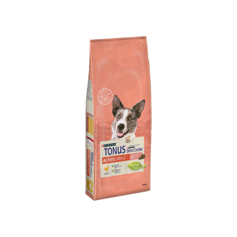 Purina Tonus Dog Chow Active con pollo 14kg