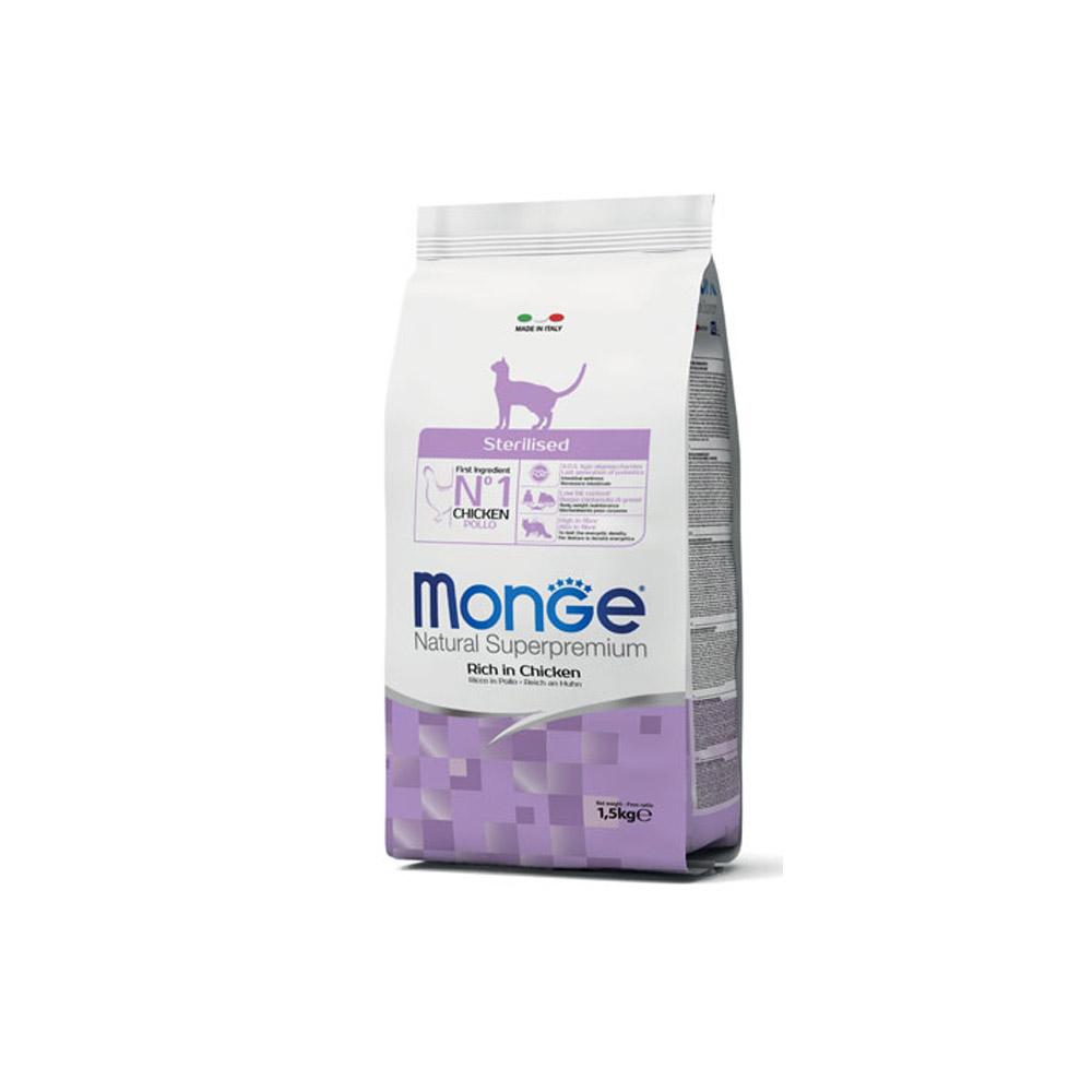 Monge Natural Superpremium Sterilised 1,5kg