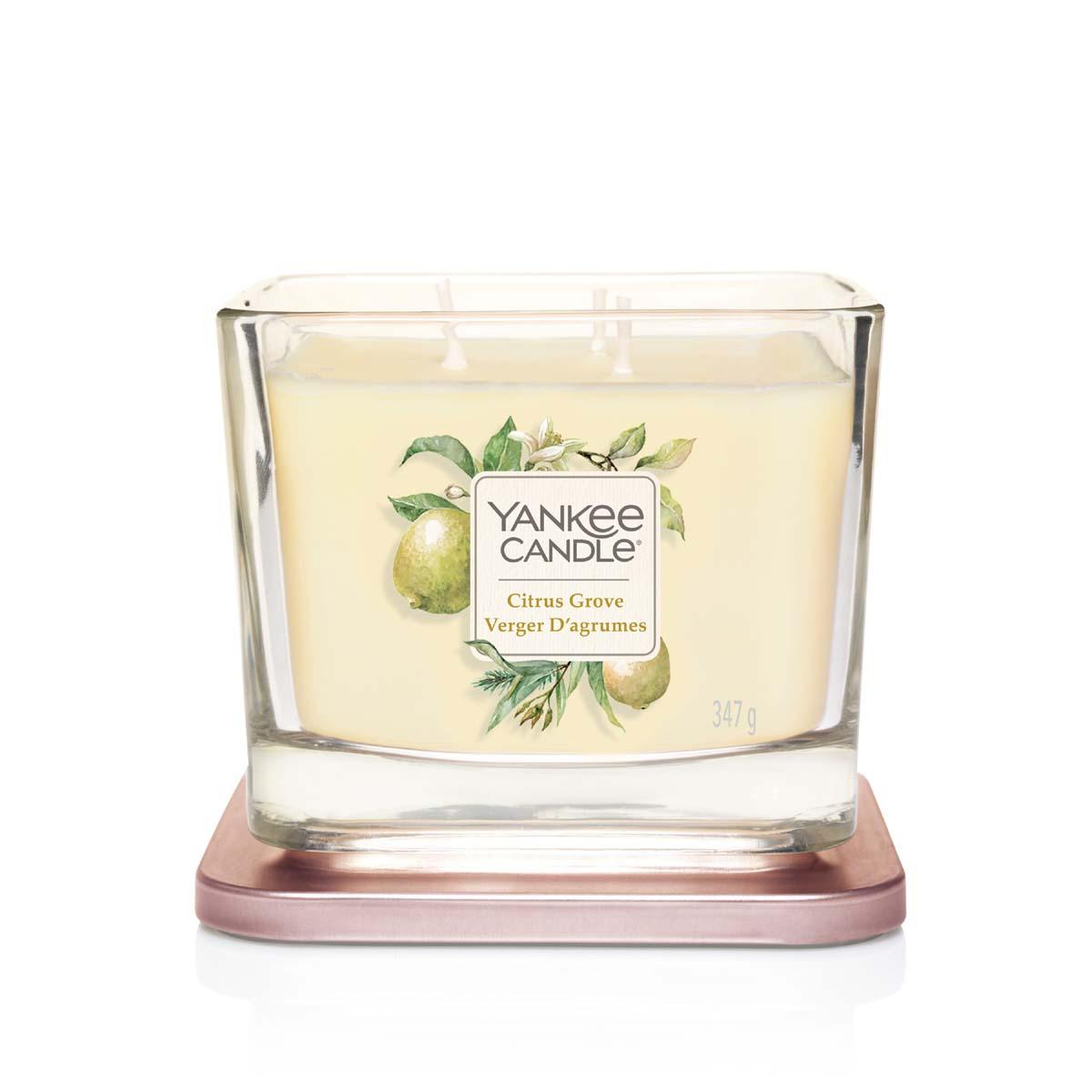 Yankee Candle Citrus Grove Square Vessel Media