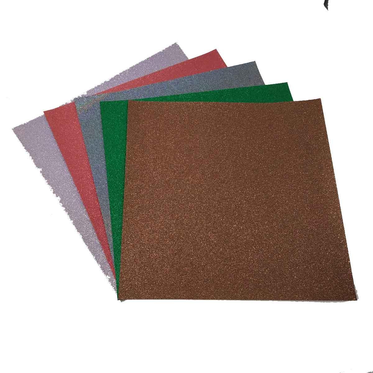 Carta Glitter per scrapbooking