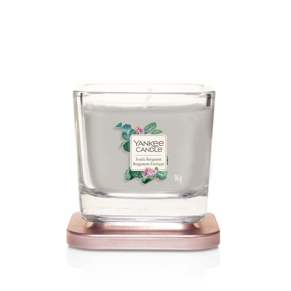 Yankee Candle Exotic Bergamot Square Vessel Piccola
