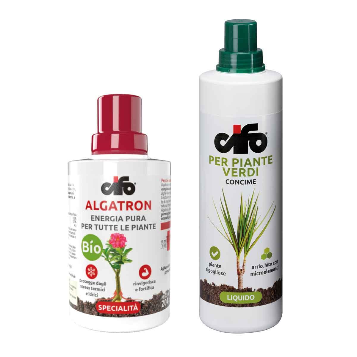 Cifo Concime Piante Verdi + Algatron
