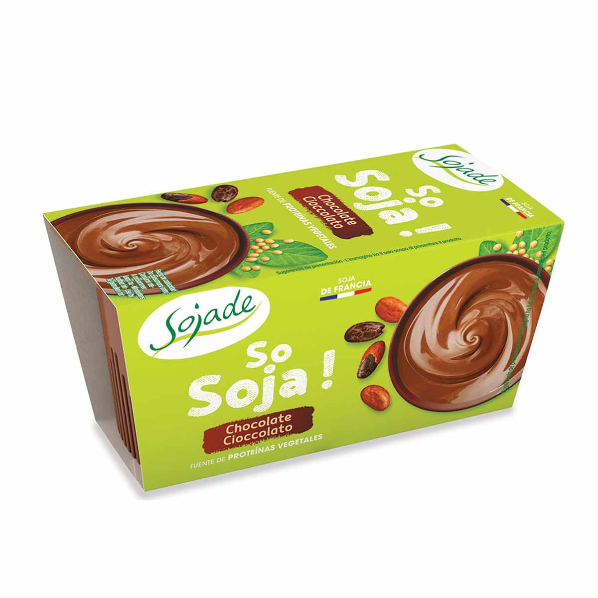Sojade Budino di soia al cioccolato