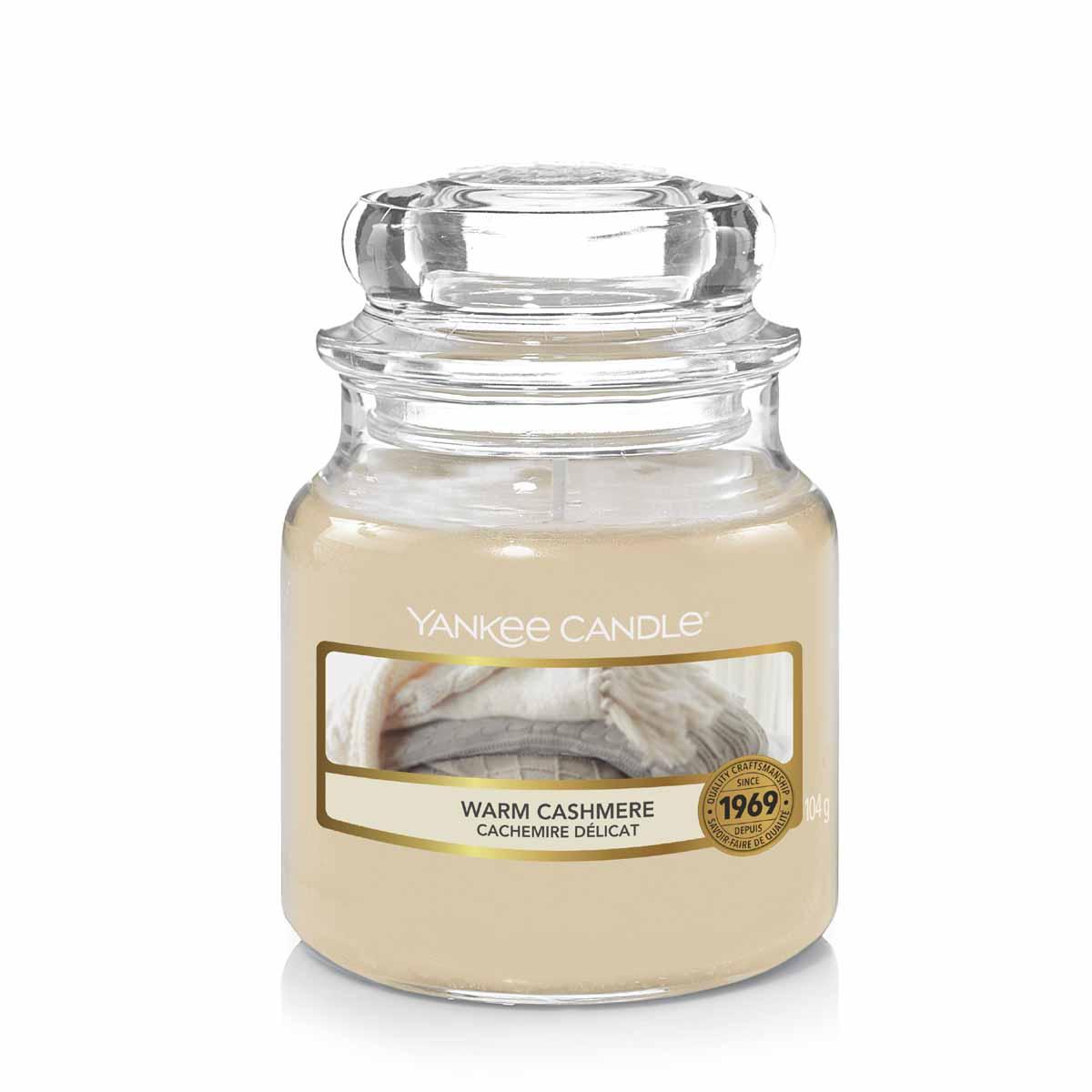 Yankee Candle Warm Cashmere Giara Piccola