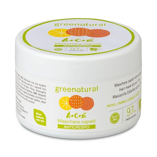 Greenatural Biotrattamento Capello Maschera Anticrespo ACE