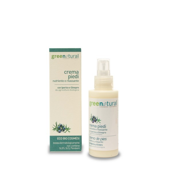 Greenatural Ecoskin Care Crema Piedi Nutriente e Rilassante