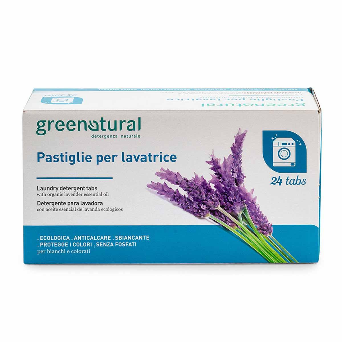 Greenatural – Greentabs lavatrice Lavanda 24pz