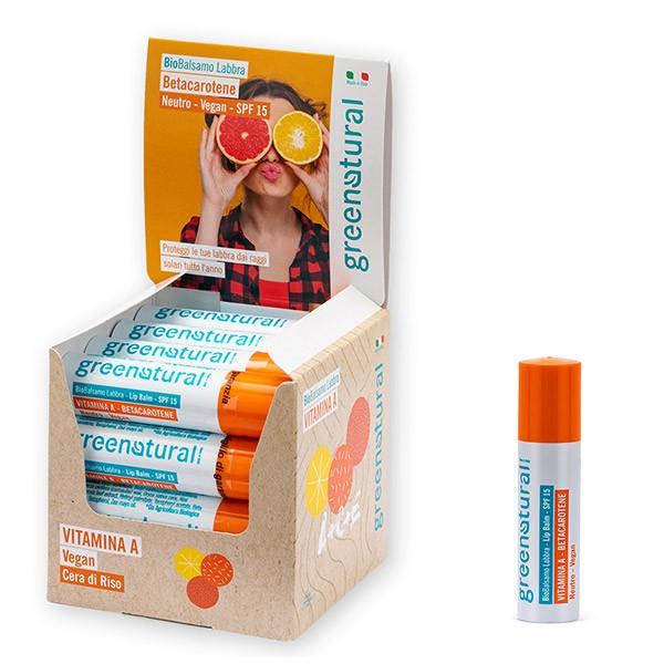 Greenatural Linea Bio Balsamo Labbra – Lip Balm