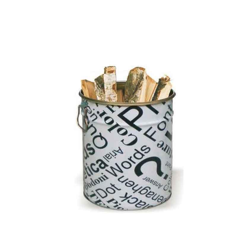 Porta legna o pellet modello Word