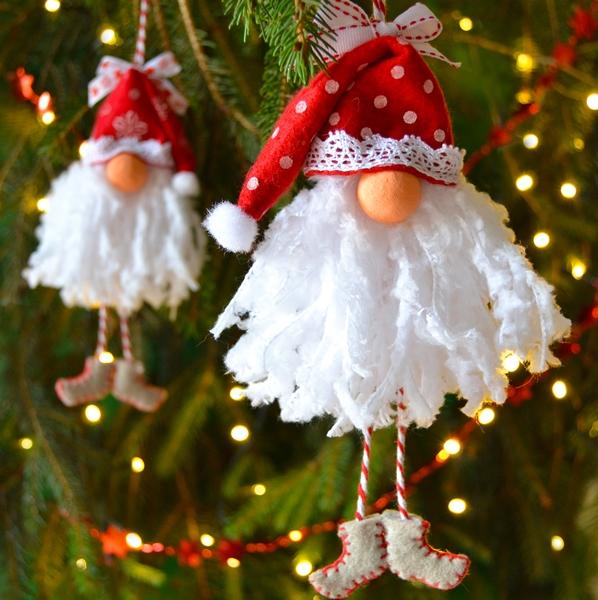 Decorazione Babbo Natale