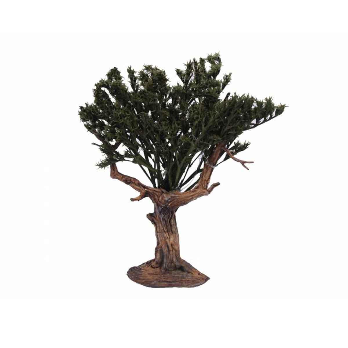 Presepe – Albero Foglie Verdi altezza 14cm