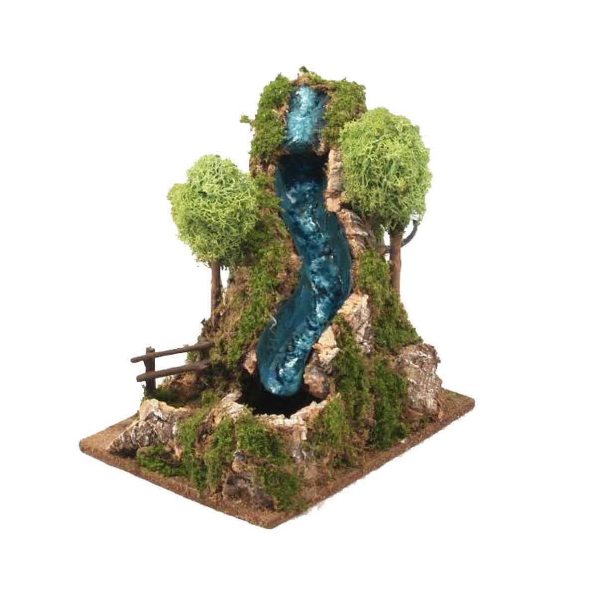 Presepe – Cascata ad acqua