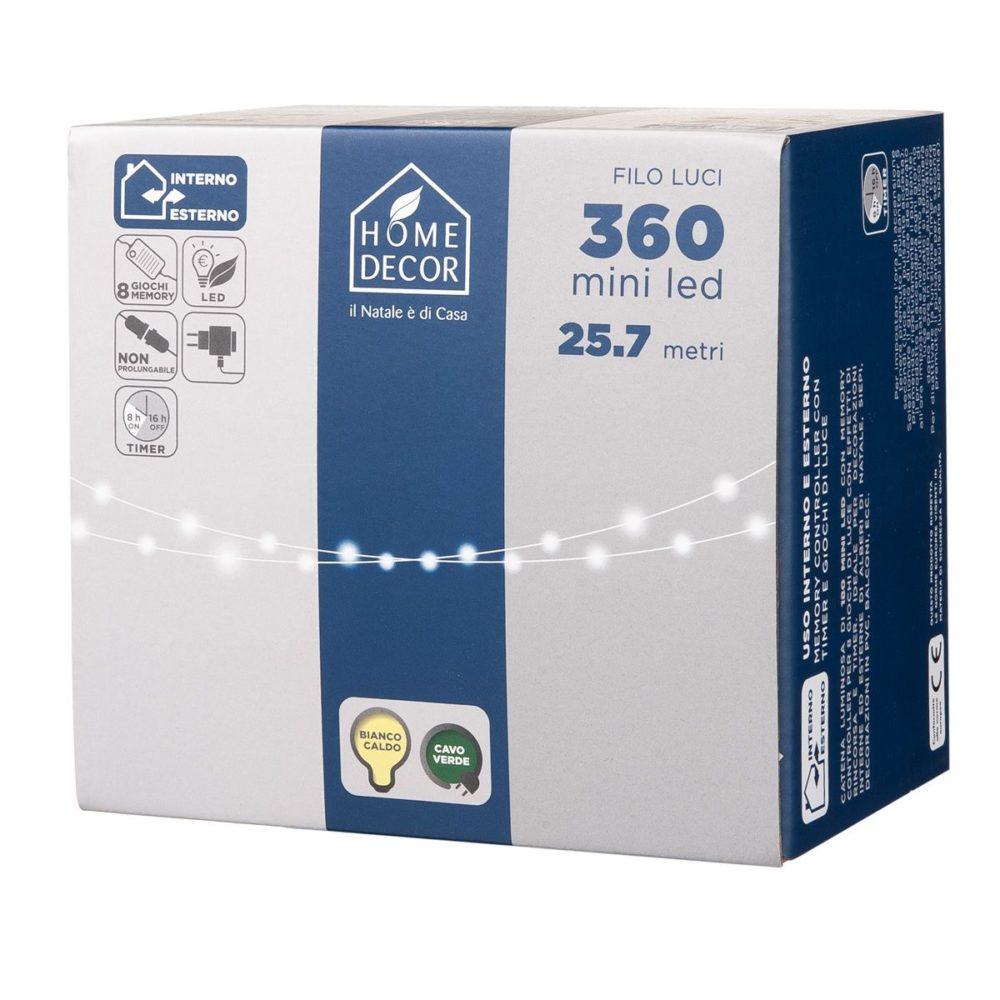Catena 360 Mini Led (Bianco caldo)
