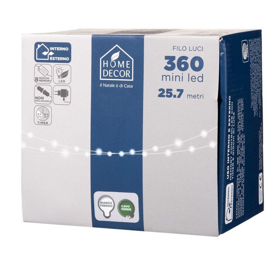 Catena 360 Mini Led (Bianco Freddo)