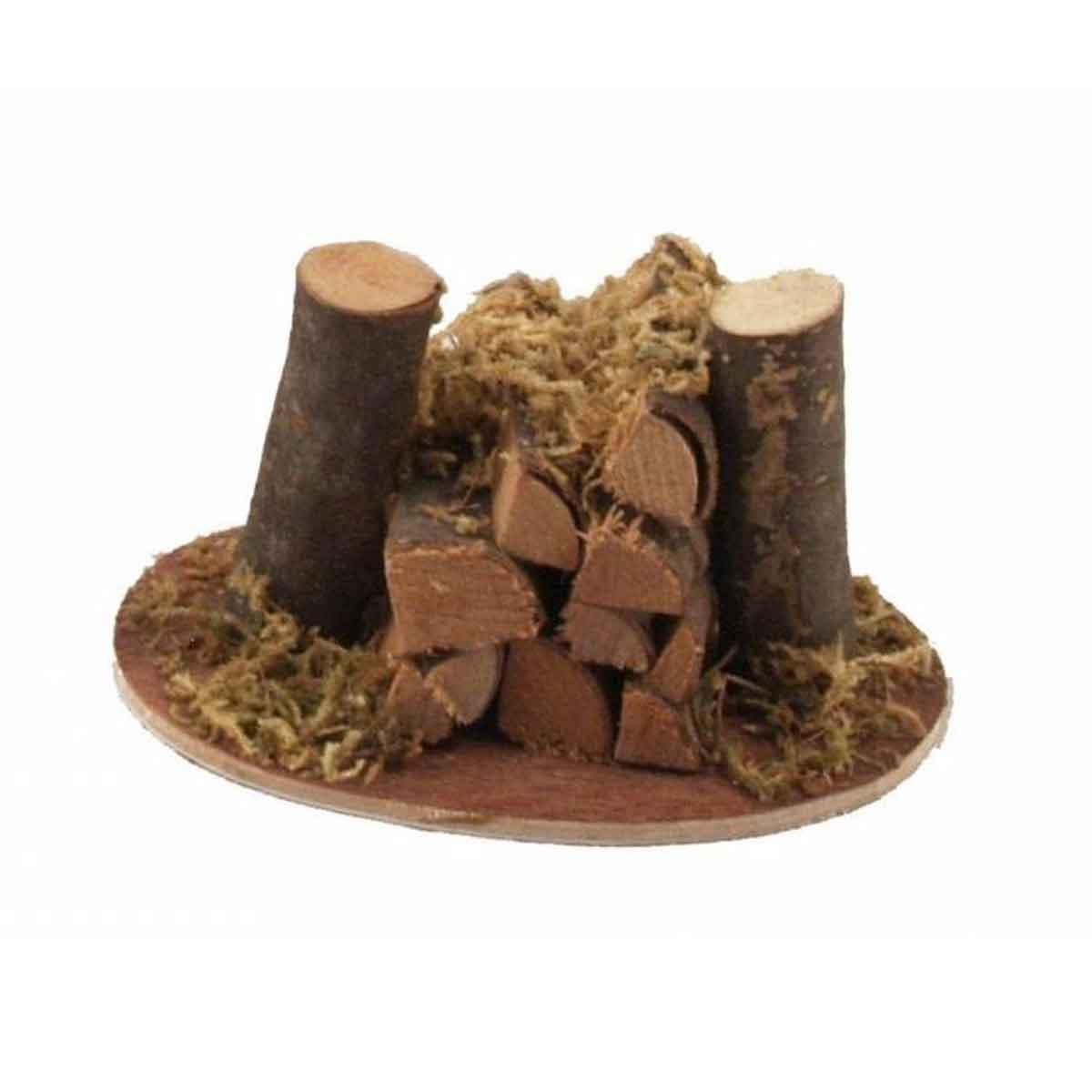 Presepe – Catasta di legna