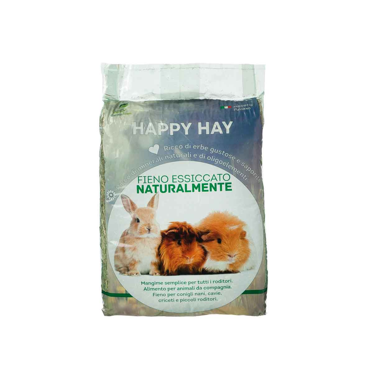 Fieno per roditori Happy Hay e Happy Flavour Hay