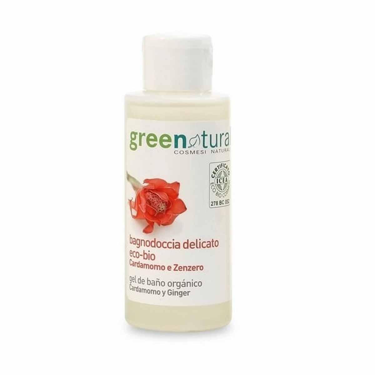 Greenatural – Bagnodoccia Tonificante Cardamomo & Zenzero 100ml