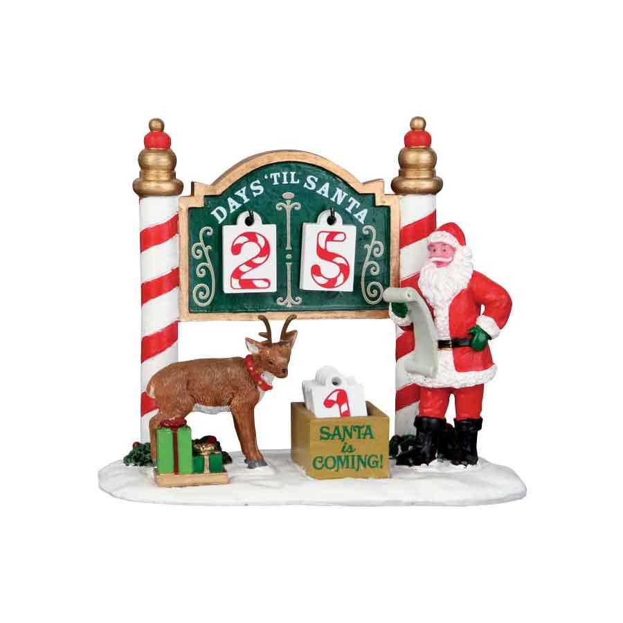 Lemax Conto alla rovescia di Natale