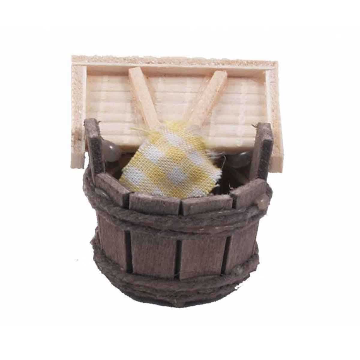 Presepe – Mastello con lavapanni