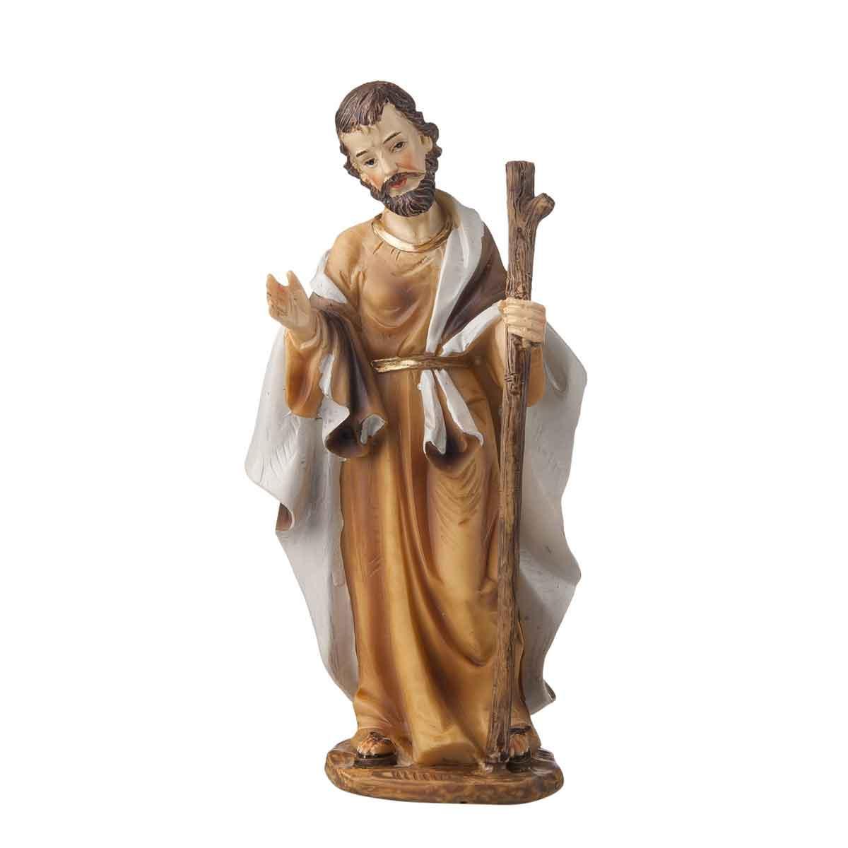 Presepe – Statuetta San Giuseppe altezza 15cm