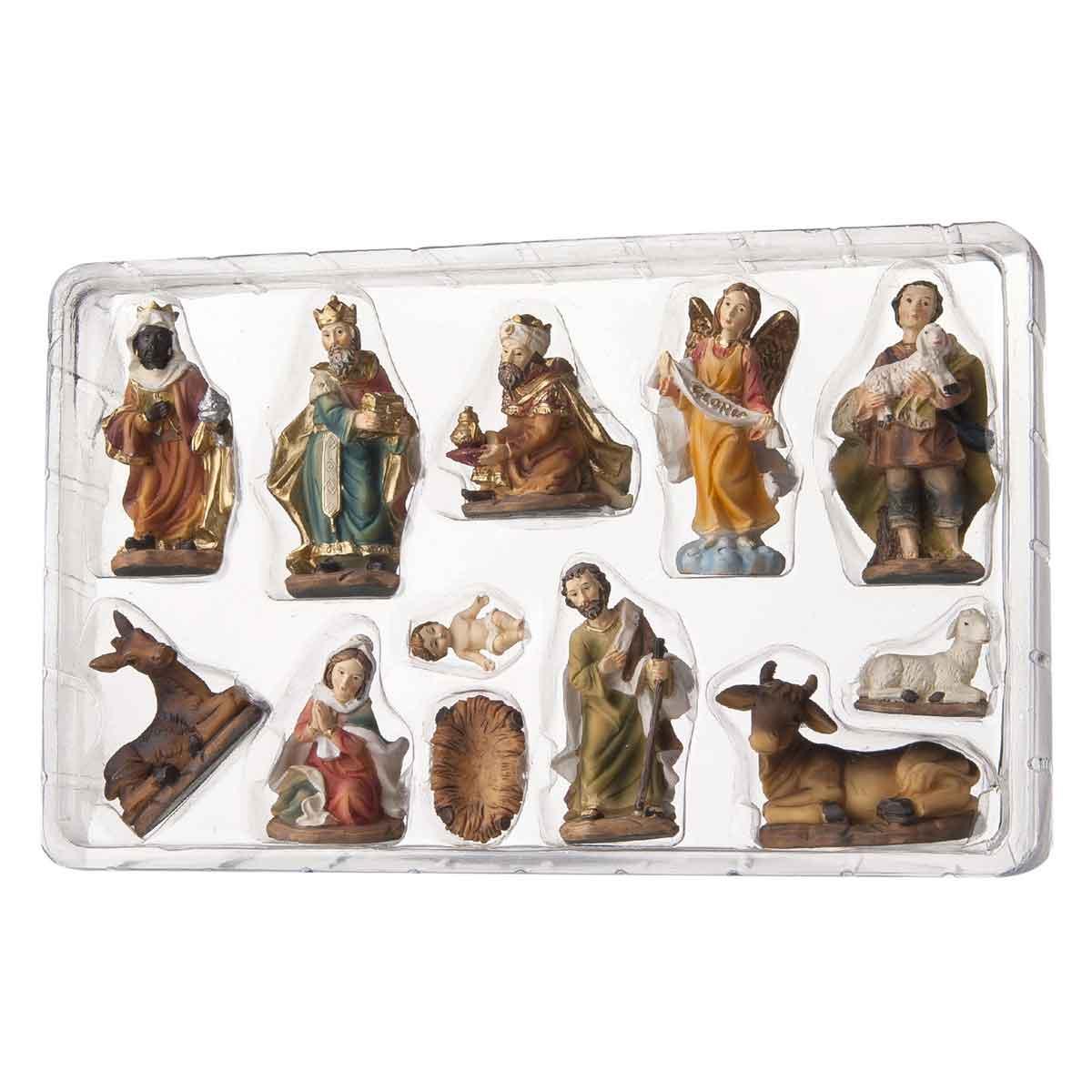 Presepe – Set 11 statuette Natività altezza 9cm