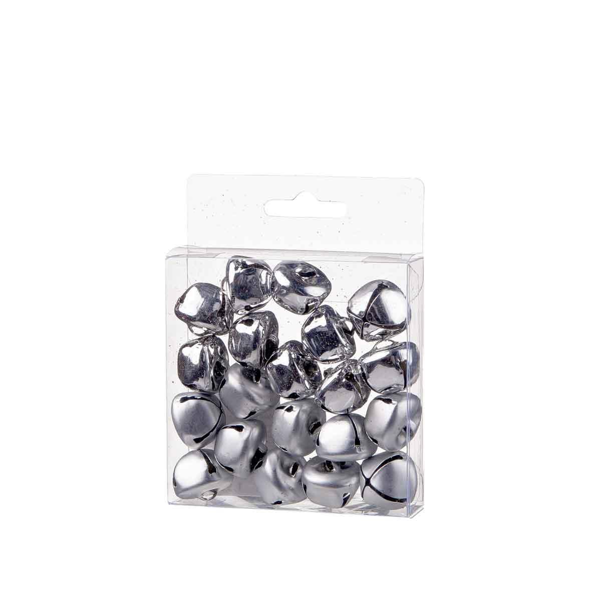 Set 20 campanelli argento