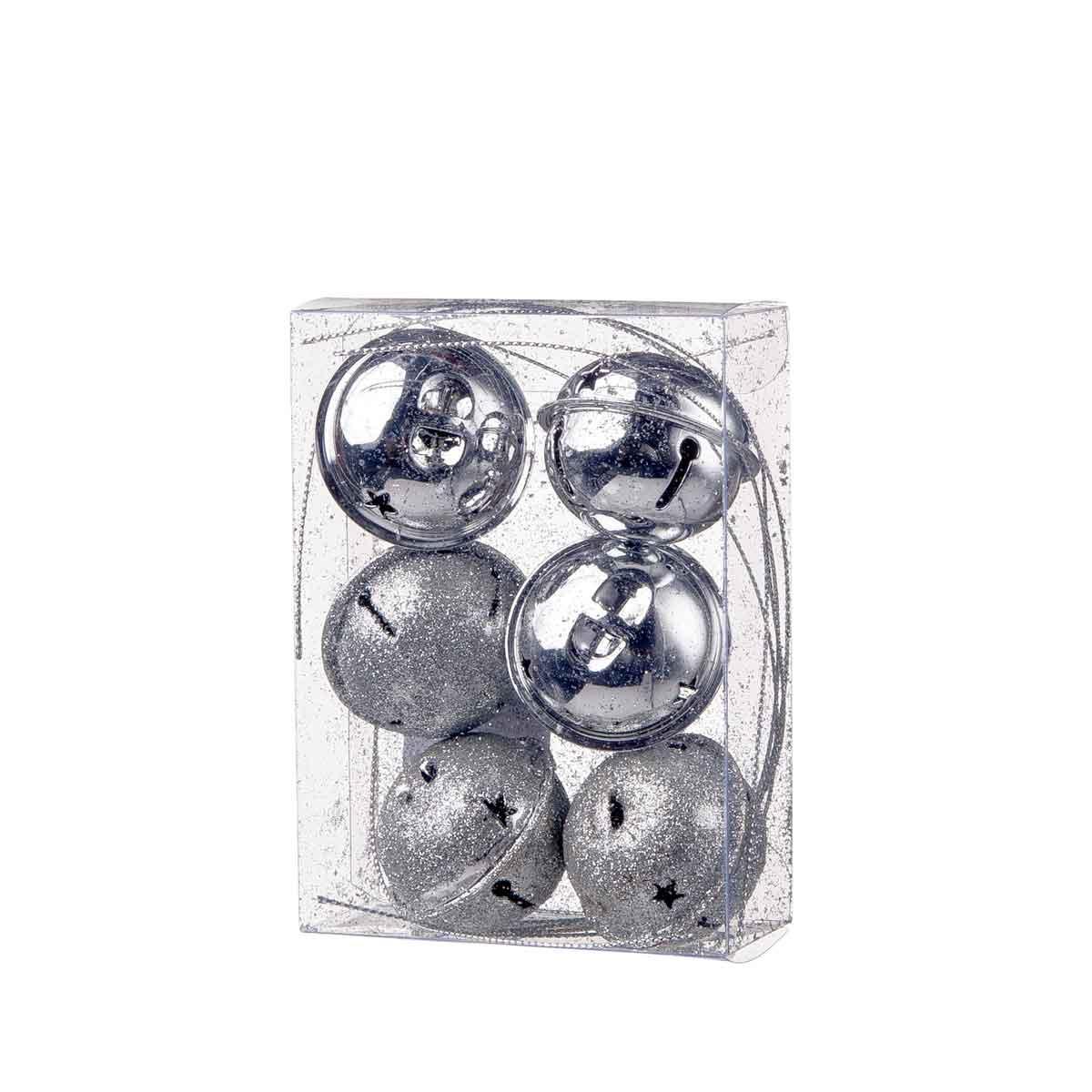 Set 6 campanelli argento
