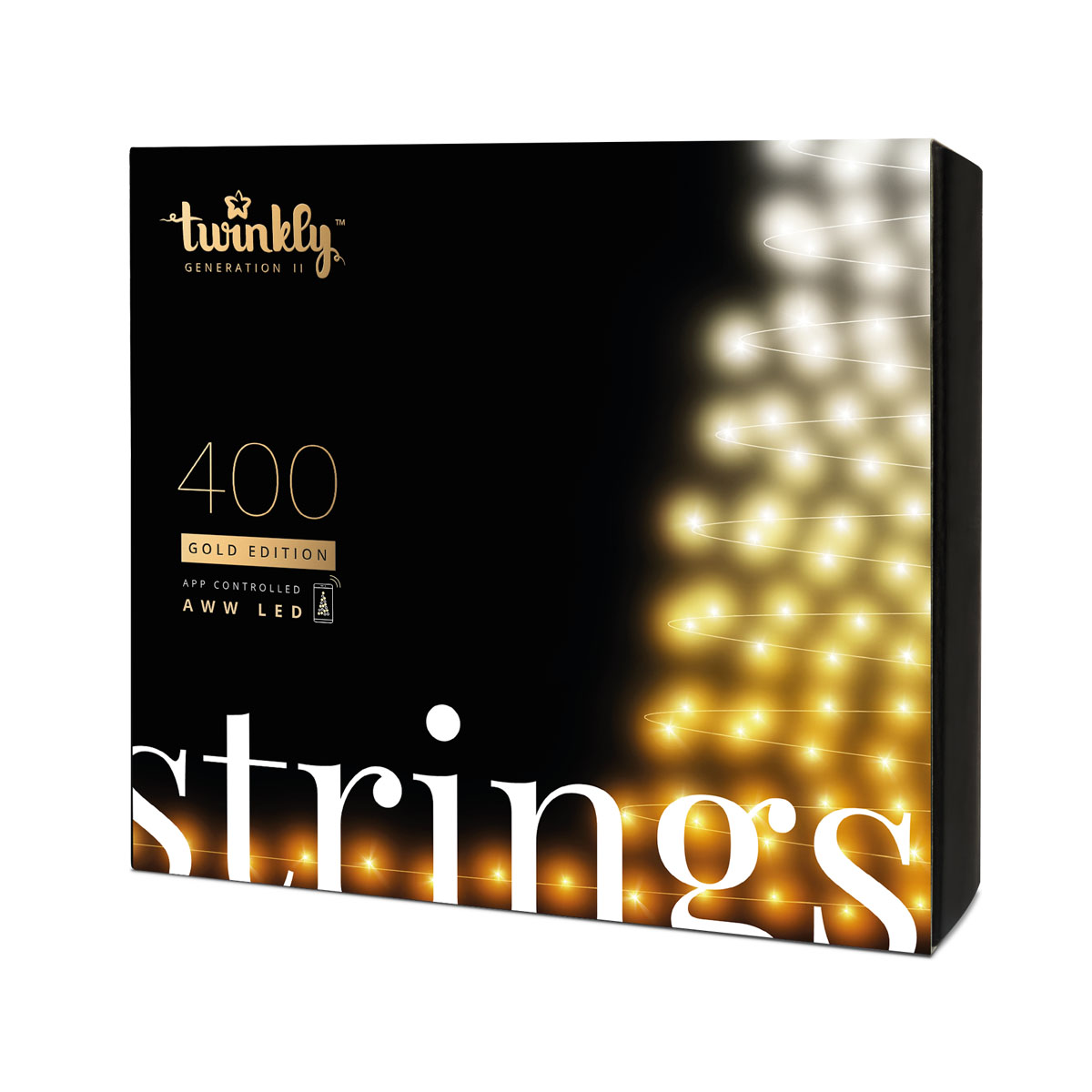 Twinkly – Catena Icicle Gold Edition Wi-fi 400 Led