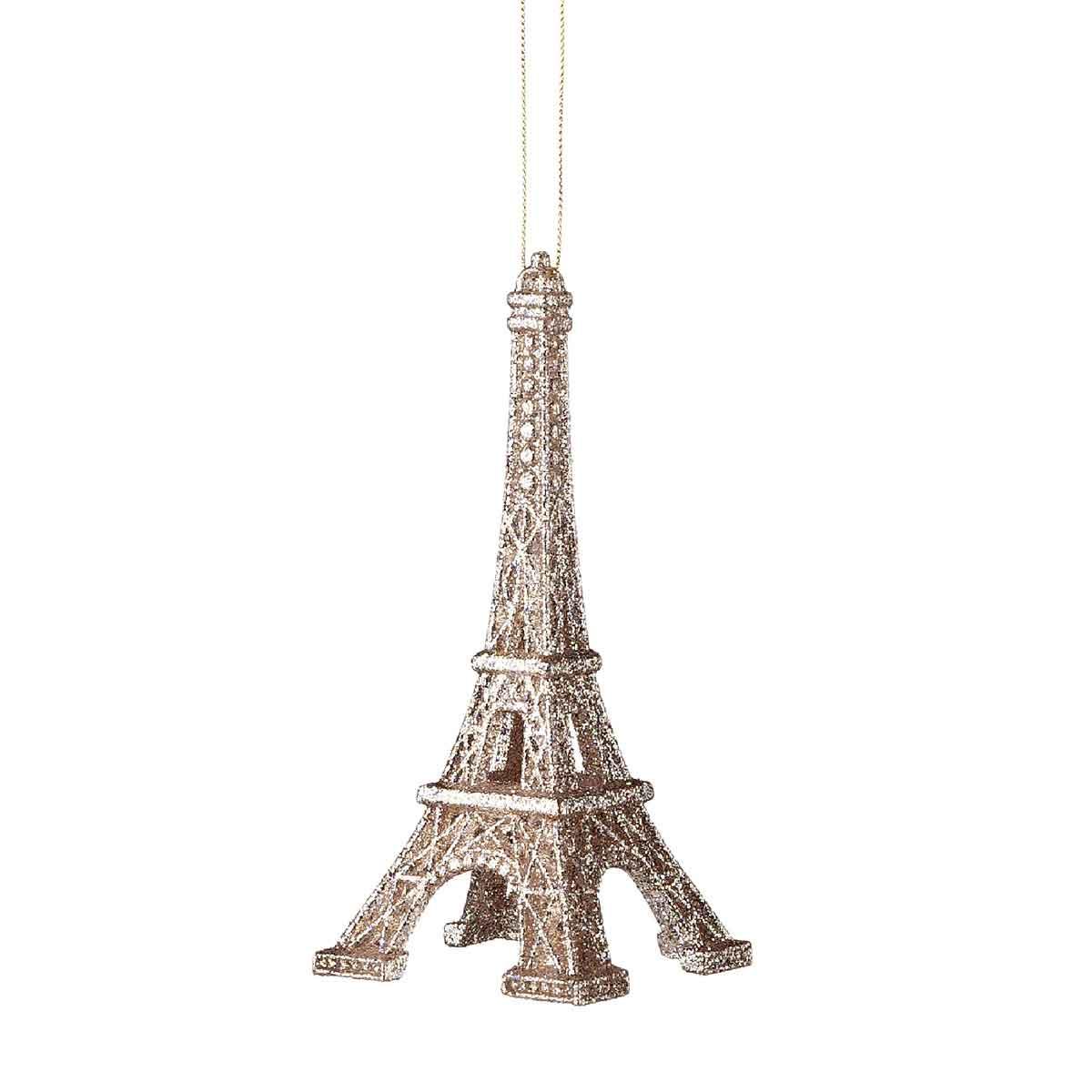 Tour Eiffel con glitter altezza 16cm