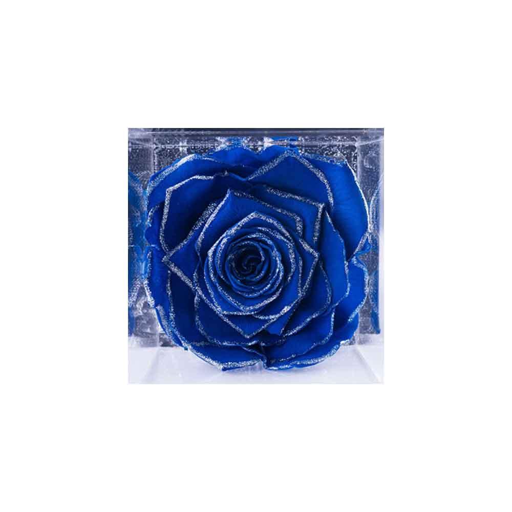 Flowercube 10×10 – Le rose stabilizzate con glitter