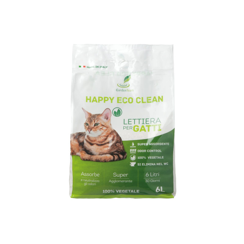 Lettiera Happy Eco Clean 6 l