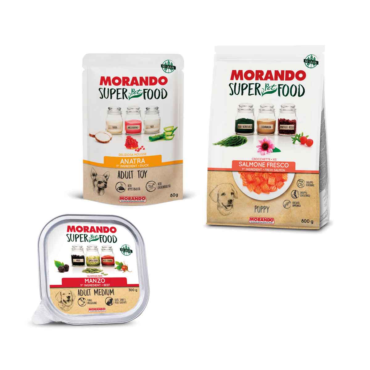 Linea Morando Super Pet Food Dog