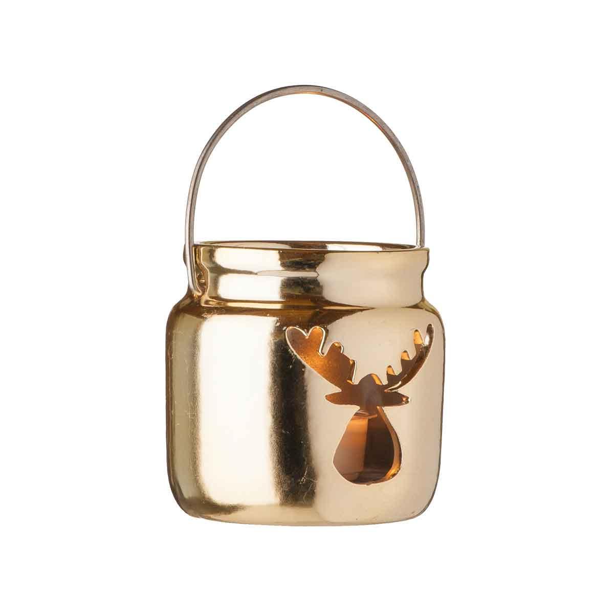 Porta Tealight oro