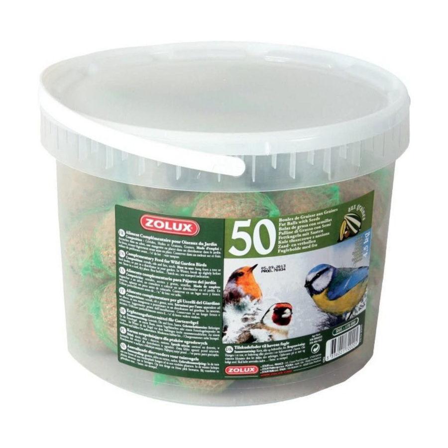 Secchio palline di grasso (50 pezzi)