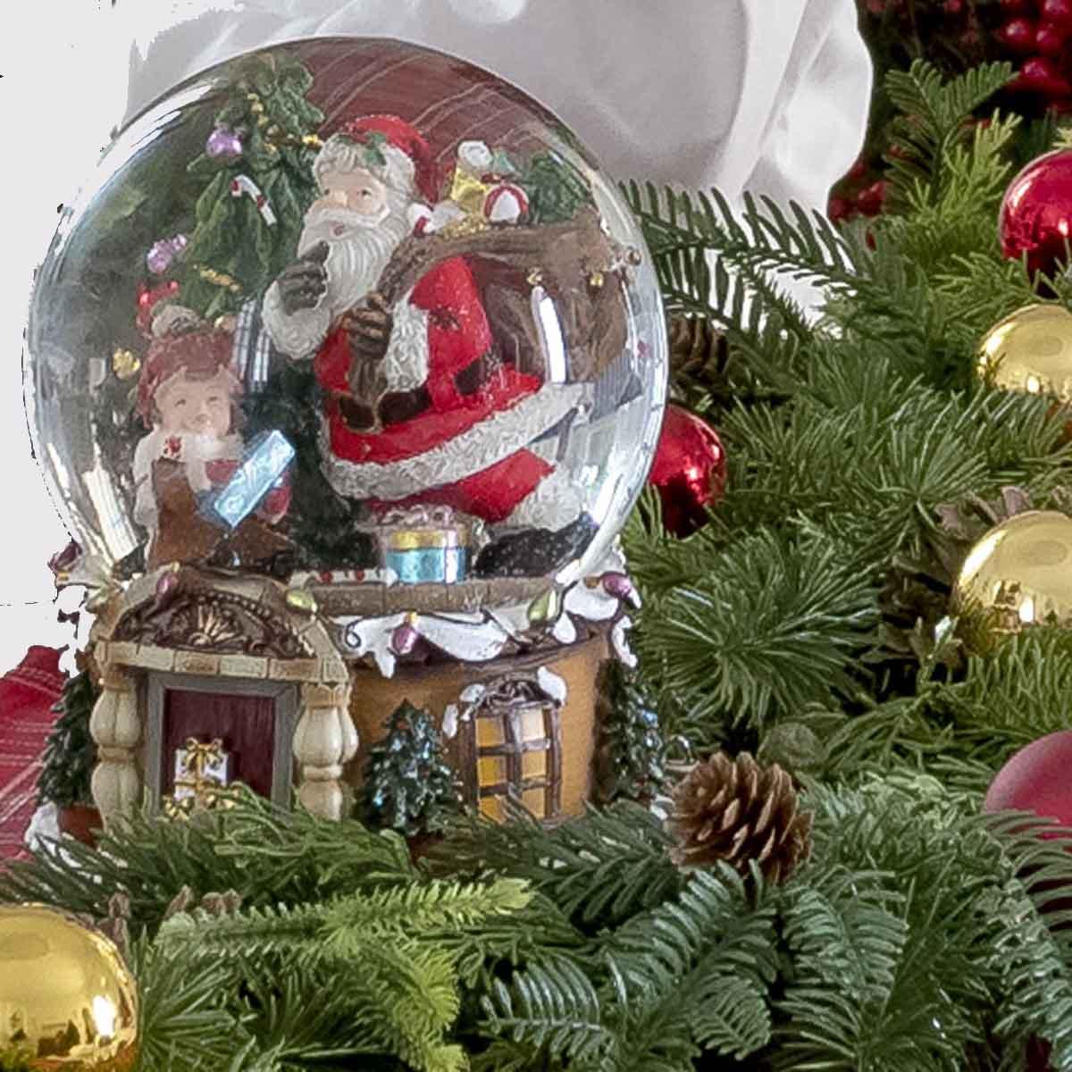 Waterball Babbo Natale con carrillon