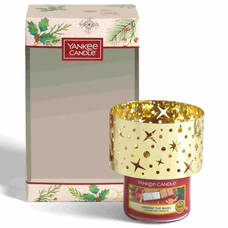 Yankee Candle Confezione regalo – 1 giara piccola e 1 paralume