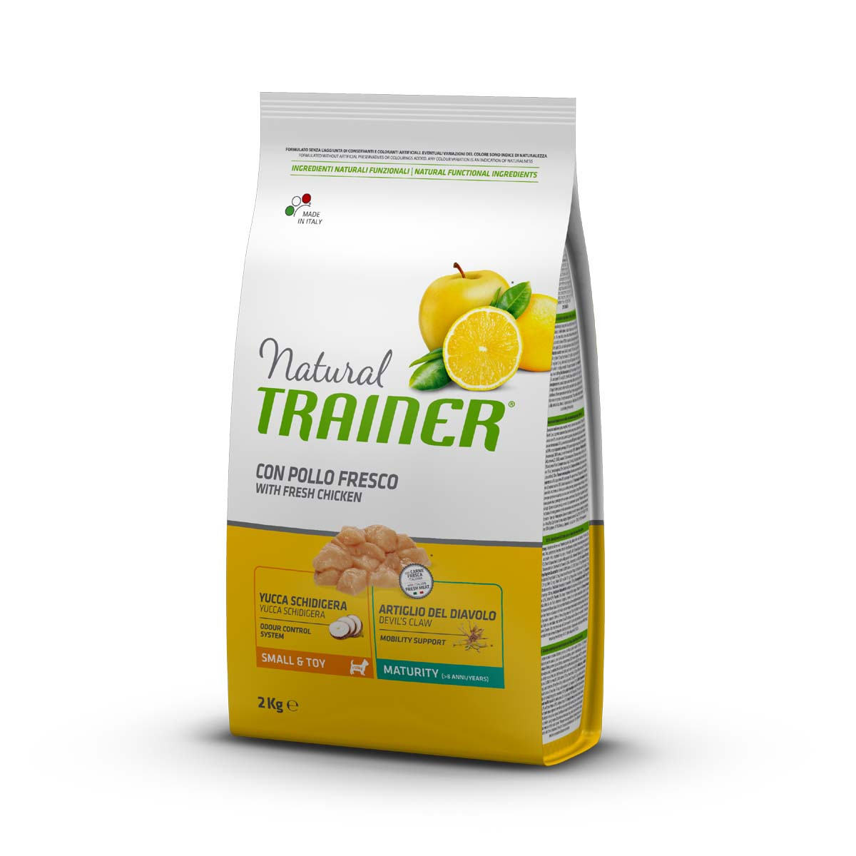 Natural Trainer Small & Toy Maturity 2 kg