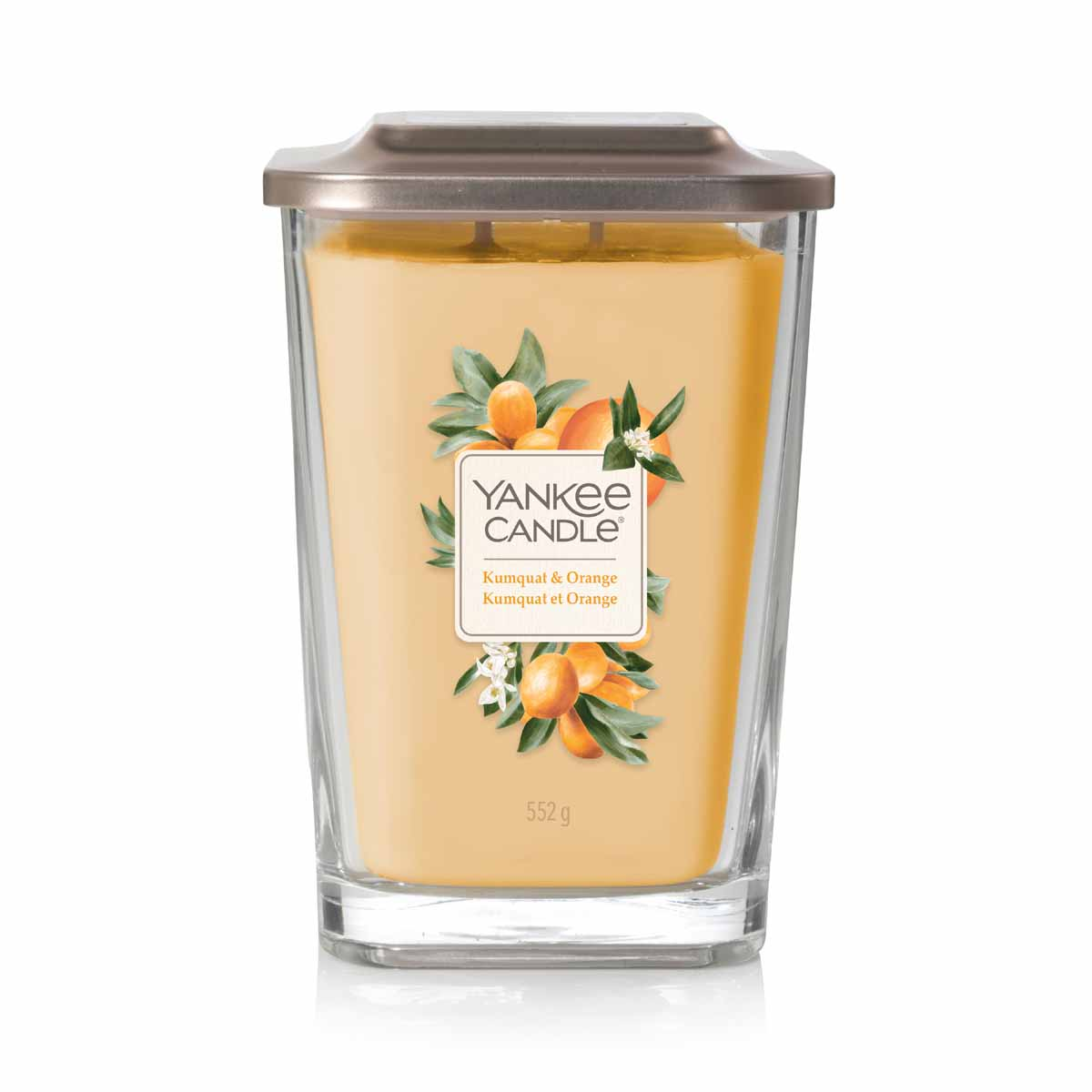 Yankee Candle Kumquat & Orange Square Vessel Grande
