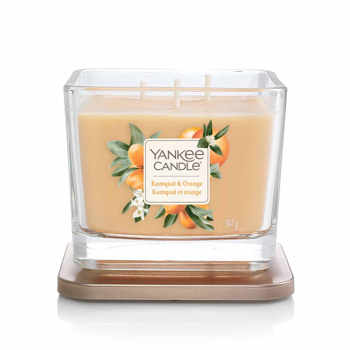 Yankee Candle Kumquat & Orange Square Vessel Media