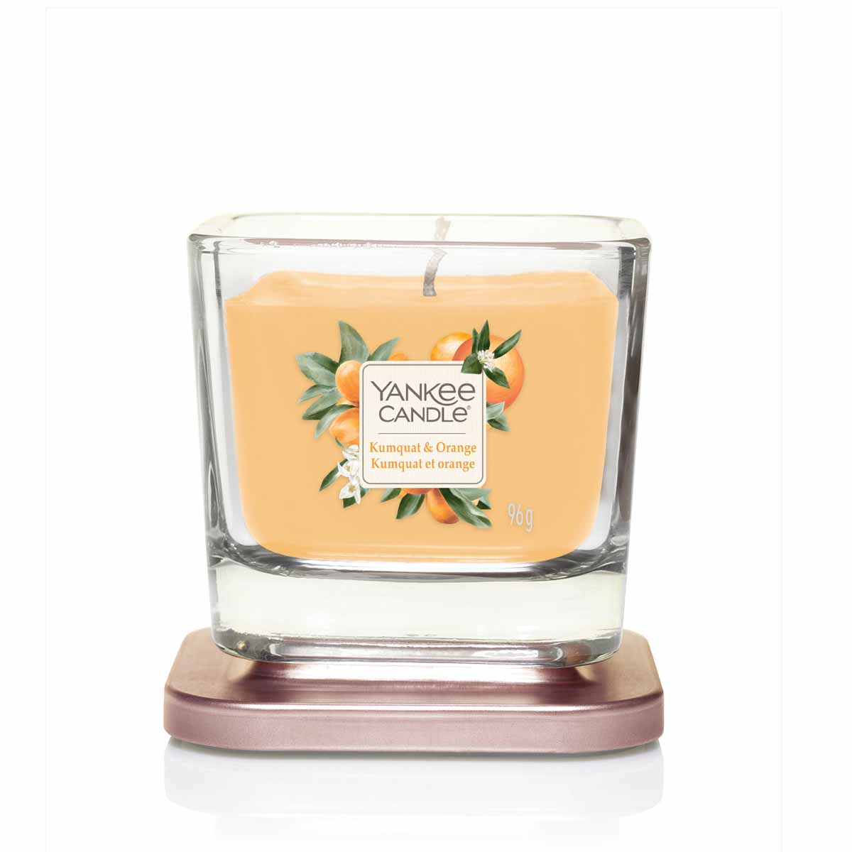 Yankee Candle Kumquat & Orange Square Vessel Piccola
